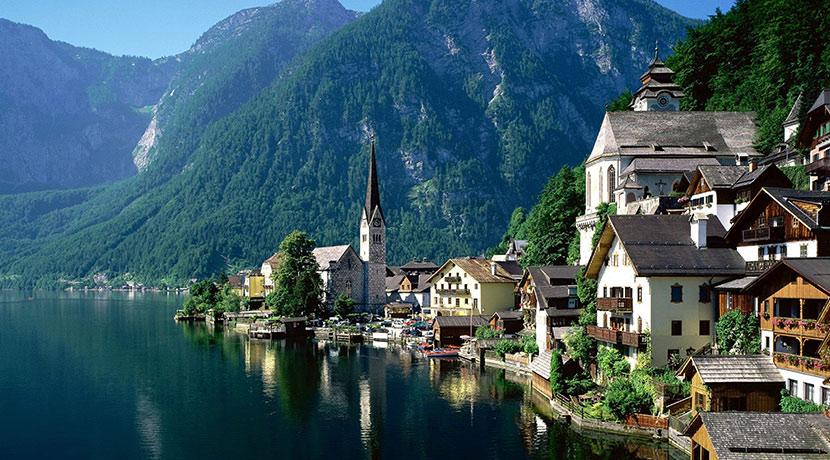 Германия, Швейцария, Лихтенштейн, Австрия «Боденское озеро, Швейцарские Альпы, виноградники, термы»